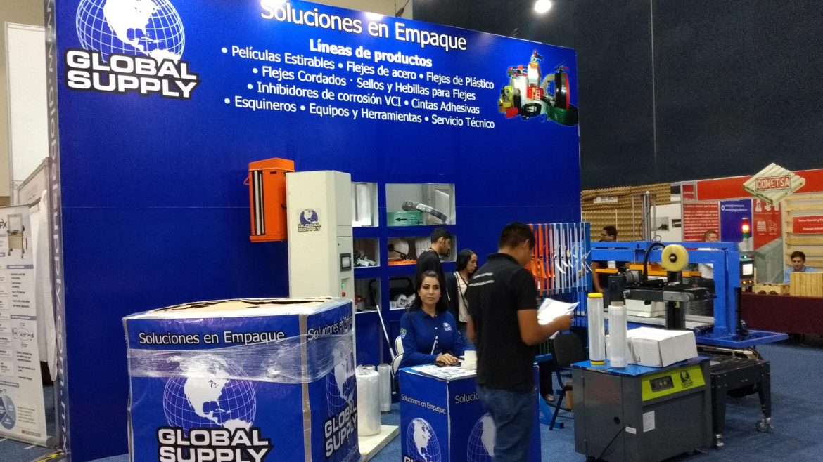 Global Supply en Expo Empaque 2019