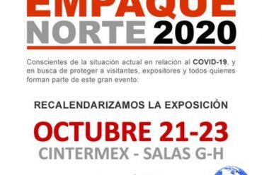 Nueva Fecha para Expo Empaque Norte 2020